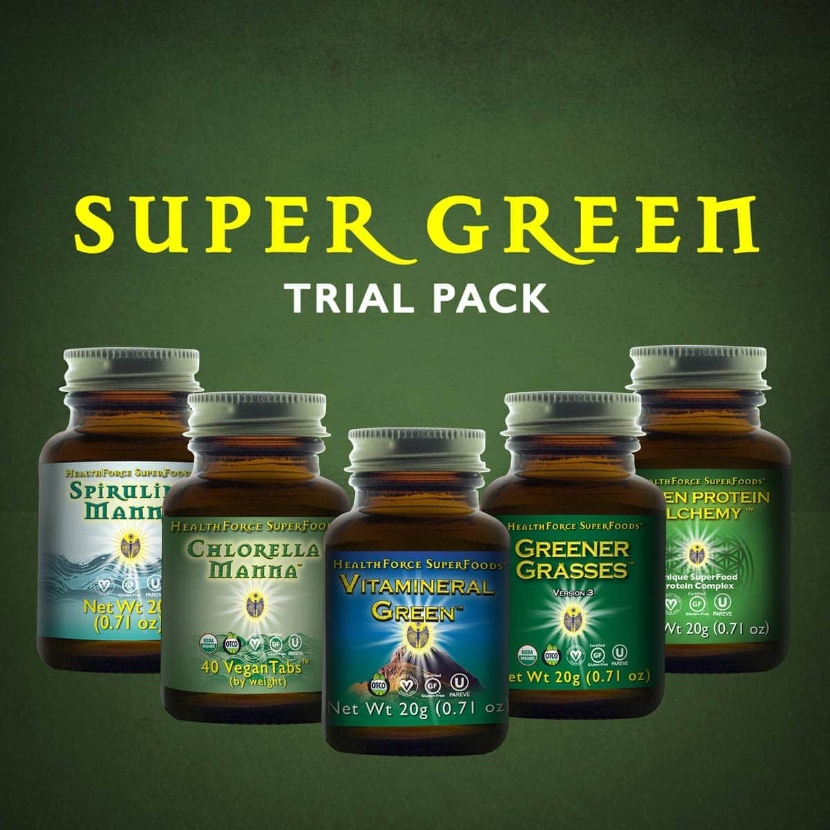 Super Green Trial Pack