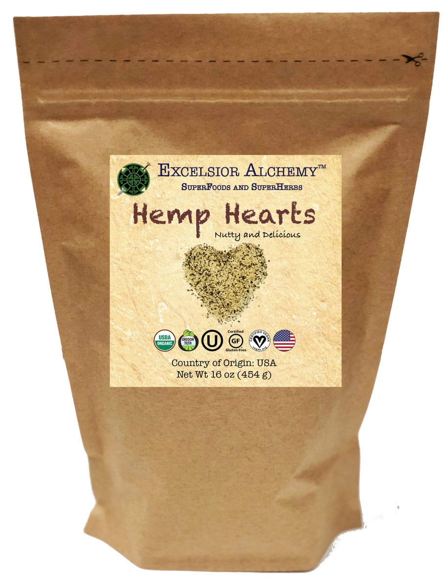 Usa Hemp Hearts – 16 Oz